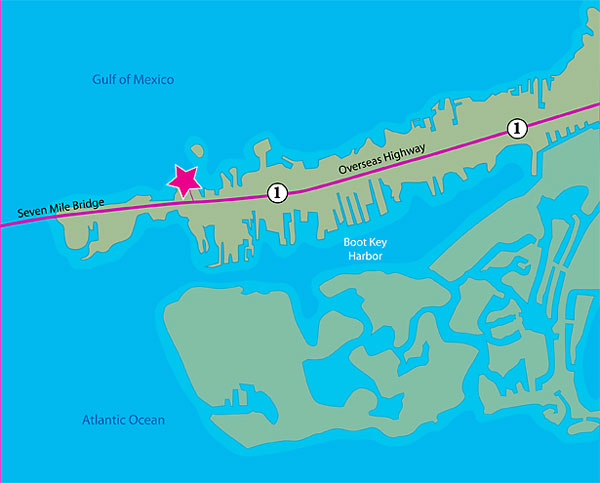 Directions to wayne gatling s fishing charter in marathon for Marathon key fishing